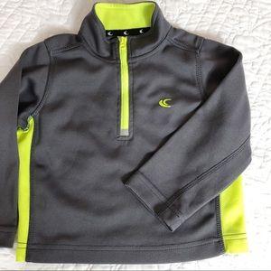 24M unisex Carter's one half zip athletic shirt